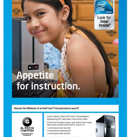 Intel Poster